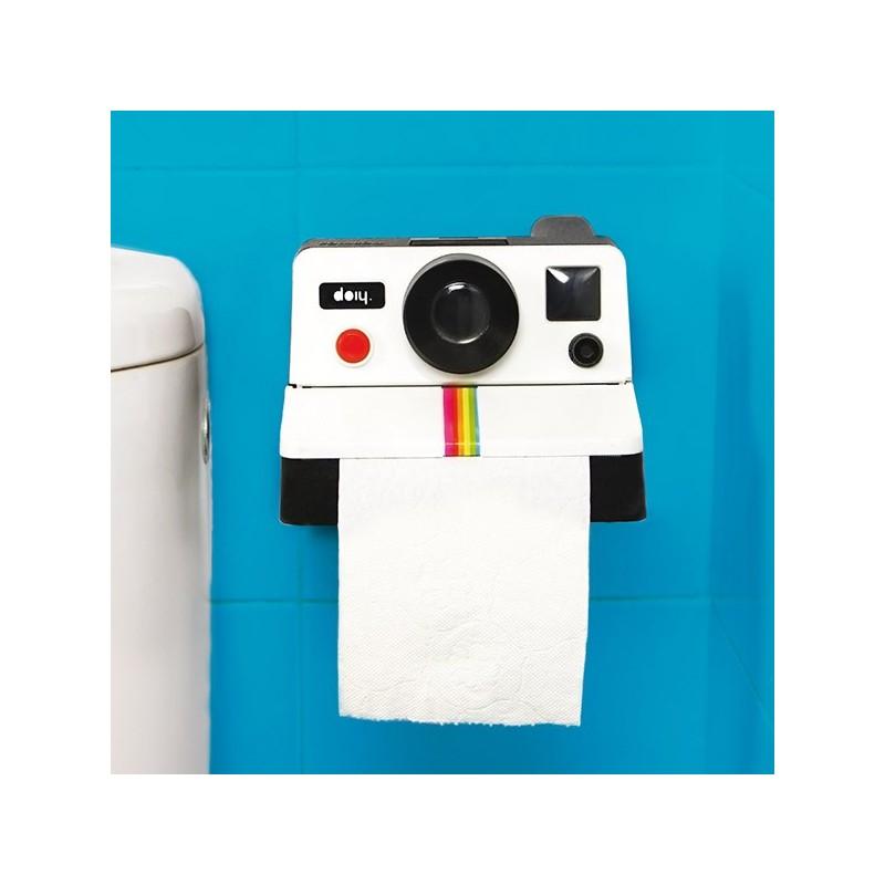 Toilet Roll Holder Polaroid Camera