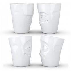 Llaveros - Vaso de leche y galleta