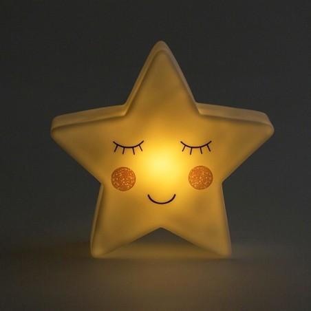 Star Shaped Night Light Sweet Dreams