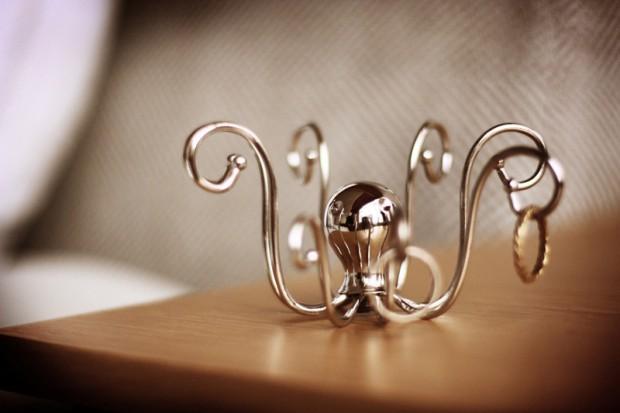 Soporte de anillos - Octopus