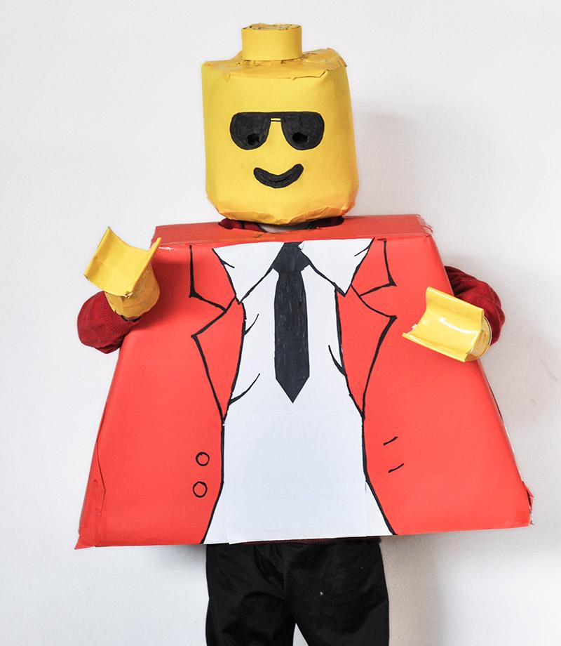 Disfraz de lego