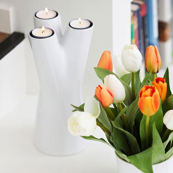 Vase and Candlestick Holder