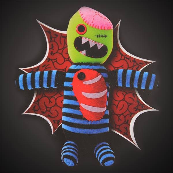 Muñeco de calcetín - Zombie