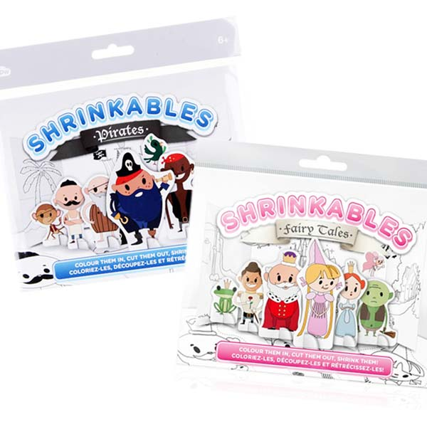 Plástico Mágico - Shrinkables