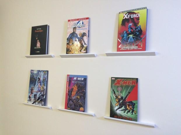 Expositor pared para comics