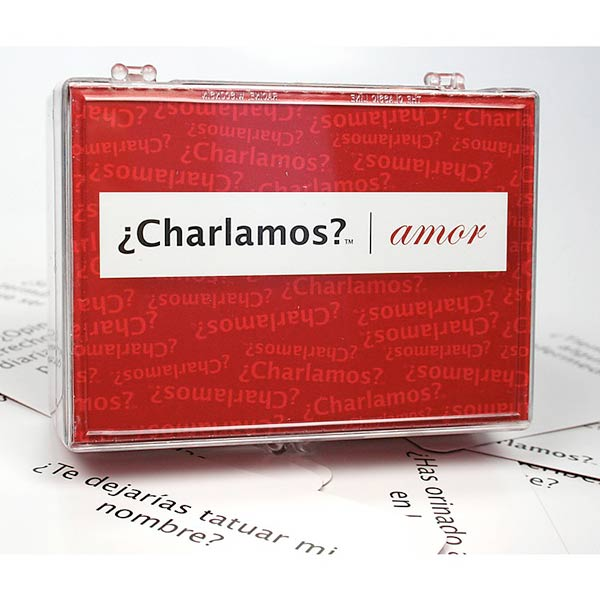 Game with questions and answers - ¿Charlamos?