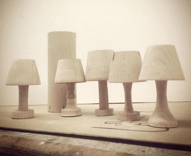 Lámpara nocturna para Smartphone - Trabajo en curso durante el diseño de Luma