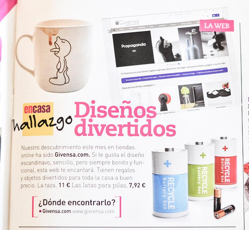 Articulo sobre Givensa - En Casa revista